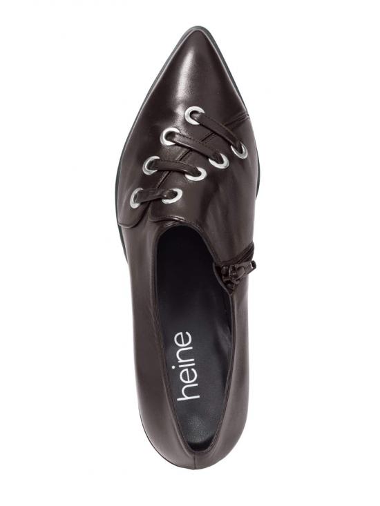 Módne kožené topánky HEINE 6fada01986a